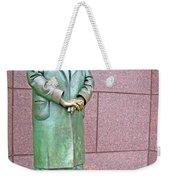 Eleanor Roosevelt -- 1 Weekender Tote Bag by Cora Wandel