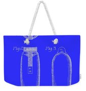 Electric Razor Patent 1939 Weekender Tote Bag