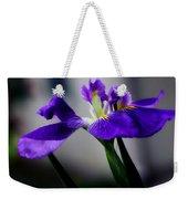 Elegant Iris Weekender Tote Bag