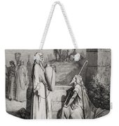 Eliezer And Rebekah Weekender Tote Bag by Gustave Dore