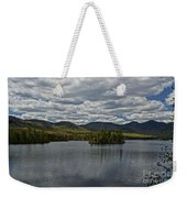 Elk Lake Weekender Tote Bag
