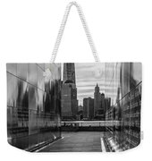 Empty Sky Memorial And The Freedom Tower Weekender Tote Bag