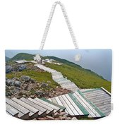 End Of Skyline Trail In Cape Breton Highlands Np-ns Weekender Tote Bag