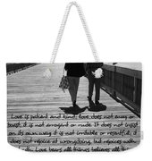 Endless Love  Weekender Tote Bag