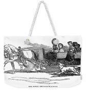 England Royal Sledge, 1854 Weekender Tote Bag