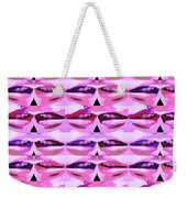 Enjoy Bliss Of Artistic Sensual Aura Lips  Kiss Romance Pattern Digital Graphic Signature   Art  Nav Weekender Tote Bag