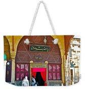 Entry To Mevlana Mausoleum In Konya-turkey  Weekender Tote Bag
