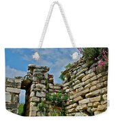 Entry To Saint John's Basilica Grounds In Selcuk-turkey Weekender Tote Bag