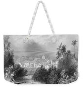 Erie Canal Little Falls Weekender Tote Bag