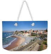 Estoril Beach In Portugal Weekender Tote Bag