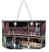 Eure River And Old Fulling Mills In Chartres Weekender Tote Bag