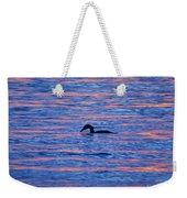 Evening Swim Weekender Tote Bag