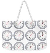 Every Hour Weekender Tote Bag