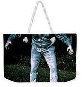 Evil Dead Horror Zombie Walking Undead In Cemetery Weekender Tote Bag