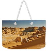 Expressive Landscape With Mountains In Egyptian Desert  Weekender Tote Bag