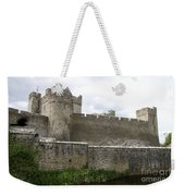 Exterior Of Cahir Castle Weekender Tote Bag