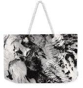 Eyjafjallajokull And The Glacier Weekender Tote Bag