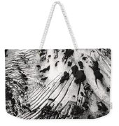 Eyjafjallajokull Glacier And Ashes  Weekender Tote Bag