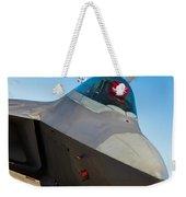 F-22 Raptor Jet Weekender Tote Bag