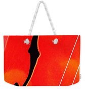 F Hole Abstract Weekender Tote Bag