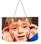 Face Paint Weekender Tote Bag
