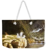 Fairies By A Rocky Stream Weekender Tote Bag