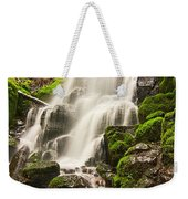 Fairy Falls In The Columbia River Gorge Area Of Oregon Weekender Tote Bag