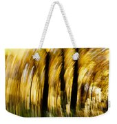 Fall Abstract Weekender Tote Bag