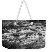 Fall Colors Stream Great Smoky Mountains Painted Bw Weekender Tote Bag