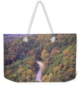 Fall Drive In The Smokies Weekender Tote Bag