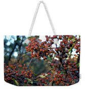 Fall Fruit Weekender Tote Bag