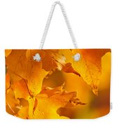 Fall Maple Leaves Weekender Tote Bag
