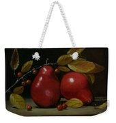 Fall Pear #2 Weekender Tote Bag