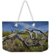Fallen Dead Torrey Pine Trunk At Torrey Pines State Natural Reserve Weekender Tote Bag
