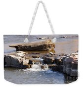 Falls Park Waterfall Weekender Tote Bag