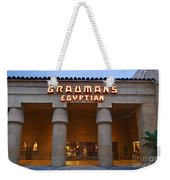 Famous Egyptian Theater In Hollywood California. Weekender Tote Bag