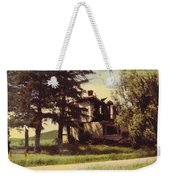 Farmhouse Landscape Weekender Tote Bag