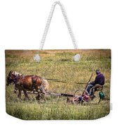 Farming With Horses Weekender Tote Bag