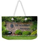 Fbi Academy Quantico Weekender Tote Bag