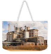 Feed Mill Weekender Tote Bag by Charles Beeler