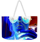 Feelin Blue Weekender Tote Bag