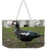 Female Muscovy Duck Weekender Tote Bag