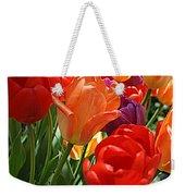 Festival Of Tulips Weekender Tote Bag