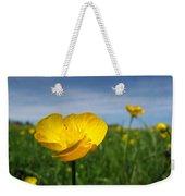 Field Of Buttercups Weekender Tote Bag