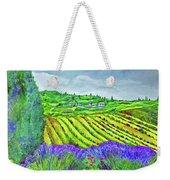 Fields At Dievole Weekender Tote Bag