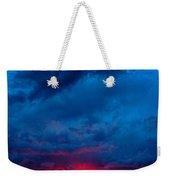 Fiery Sunset Weekender Tote Bag