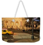 Fifth Avenue Weekender Tote Bag