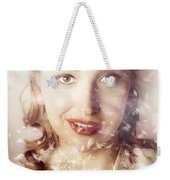 Fifties Beauty In Nature And Natural Light Weekender Tote Bag