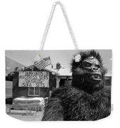 Film Homage Barbara Payton Bride Of The Gorilla 1951 Gorilla Mascot July 4th Mattress Sale 1991 Weekender Tote Bag