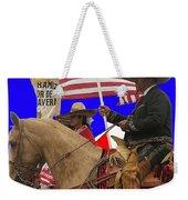 Film Homage Ride Vaquero 1953 1 Hispanic Riders Rodeo Parade Tucson Az 2002-2008 Weekender Tote Bag